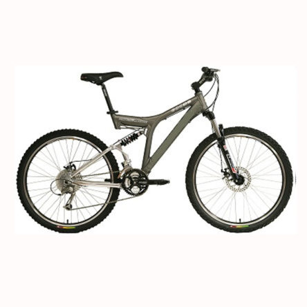 Full suspension mountain bike