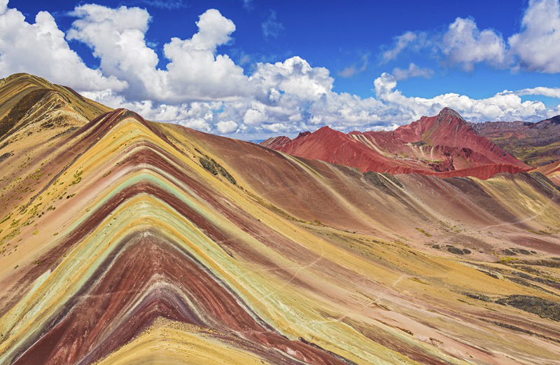 Vinicunca, the seven color mountain